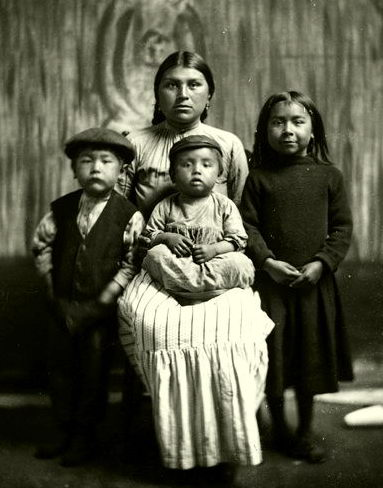 First Nations family
